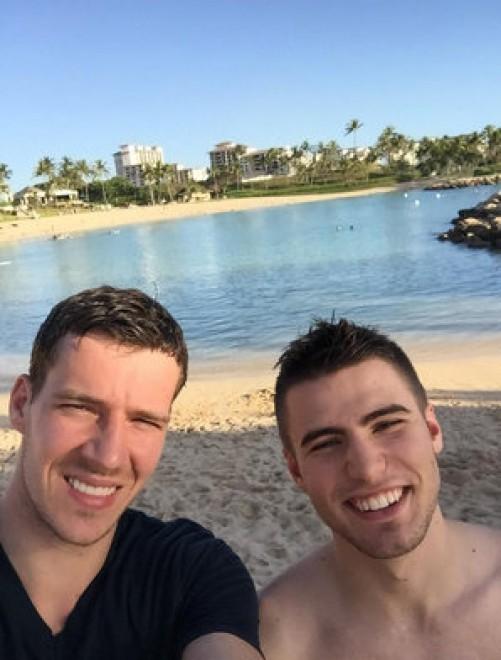 Goran Dragić se je sicer pravkar vrnil s počitnic na Havajih, kamor se je odpravil s svojo družino (Twitter)
