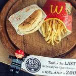 Poglejte, kaj je Islandija naredila z zadnjim McDonald's obrokom!