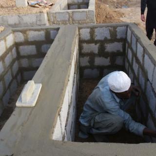 V Pakistanu se bojijo, da bi jim zmanjkalo grobov za žrtve vročine (foto:Profimedia)
