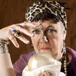 Female gypsy fortune teller with a crystal ball, Image: 122866518, License: Royalty-free, Restrictions: , Model Release: yes, Credit line: Profimedia, Stock Budget