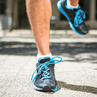 Close up view of athletes feet jogging in the city, Image: 259966347, License: Royalty-free, Restrictions: , Model Release: yes, Credit line: Profimedia, Stock Budget